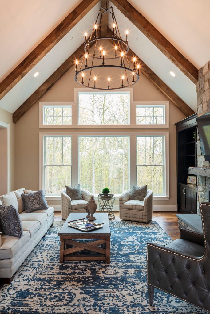 The soft palette throughout the house lets the stunning views take center stage.