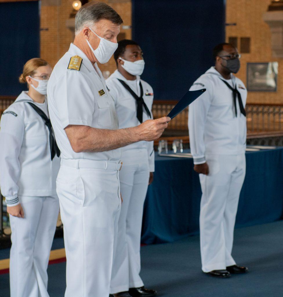 Sailor of the Quarter Awards. (June 24, 2020)