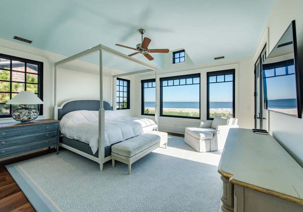Waking up is easy with the ocean outside your window.