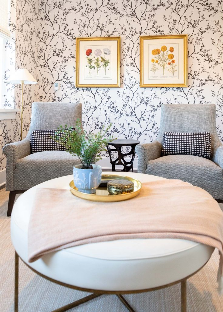 A spare bedroom became a wine lounge and is now the most loved room in the home.